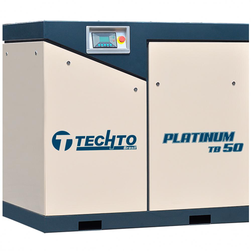 Compressor de Ar Parafuso TechTo 50 HP - Ar Direto