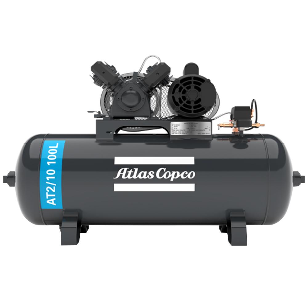 Compressor de Ar Premium Atlas Copco 100 litros - 10 Pés