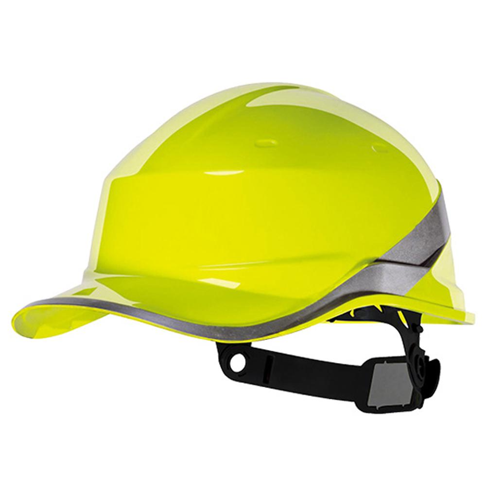 Capacete de Segurança Baseball Diamond V em ABS Amarelo Fluorescente