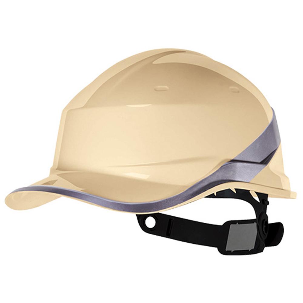 Capacete de Segurança Baseball Diamond V em ABS Bege