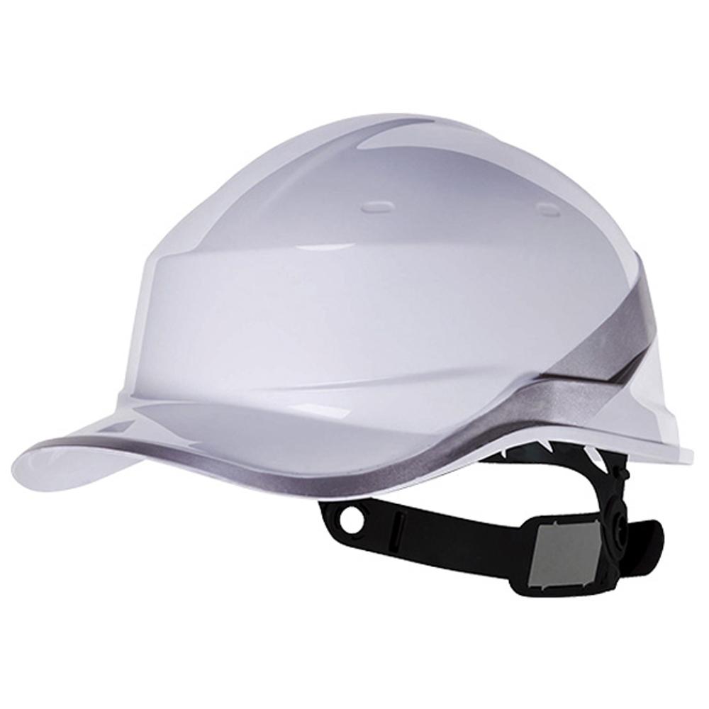 Capacete de Segurança Baseball Diamond V em ABS Branco