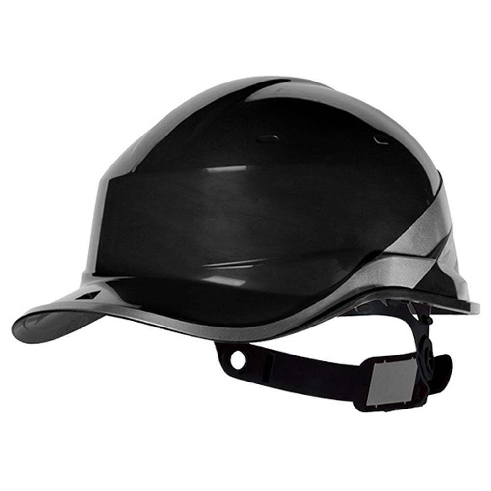 Capacete de Segurança Baseball Diamond V em ABS Preto