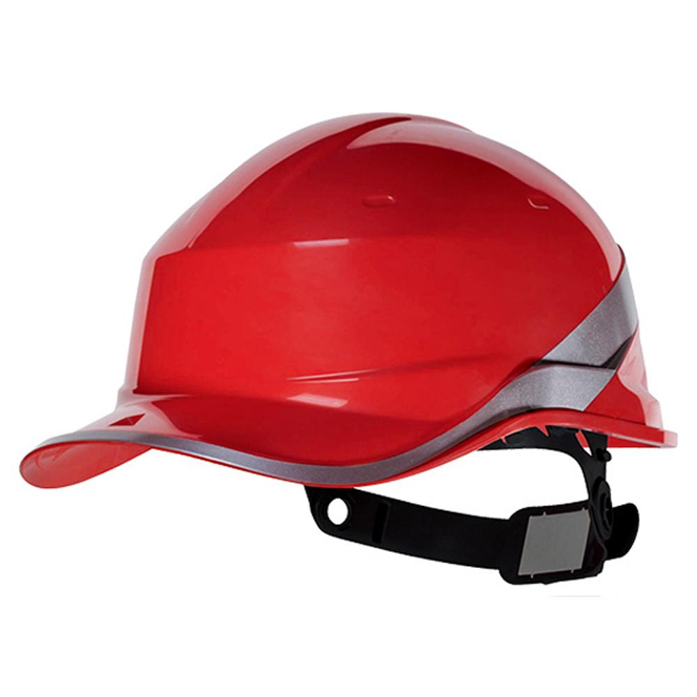 Capacete de Segurança Baseball Diamond V em ABS Vermelho