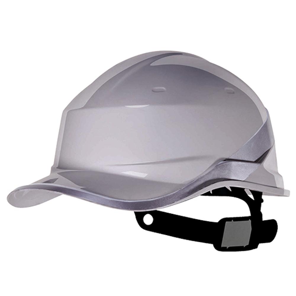 Capacete de Segurança Baseball Diamond V em ABS Cinza