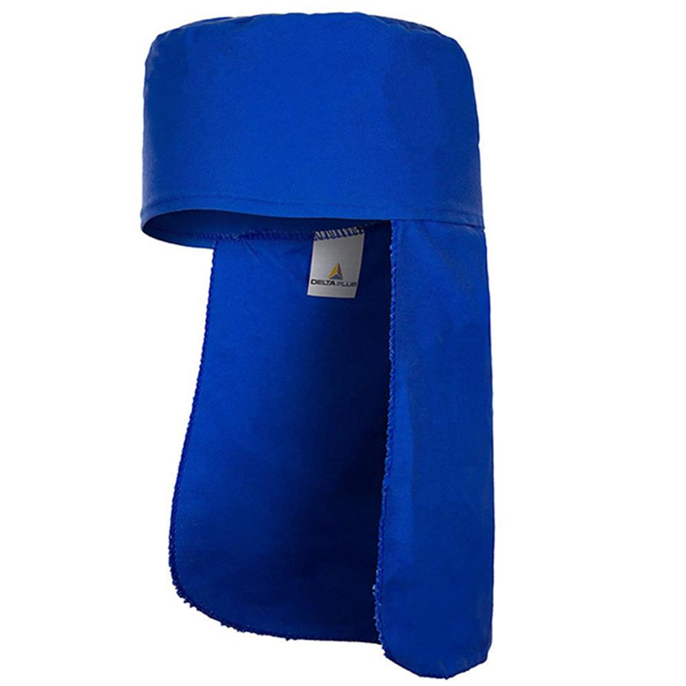 Touca Soldador Azul Royal