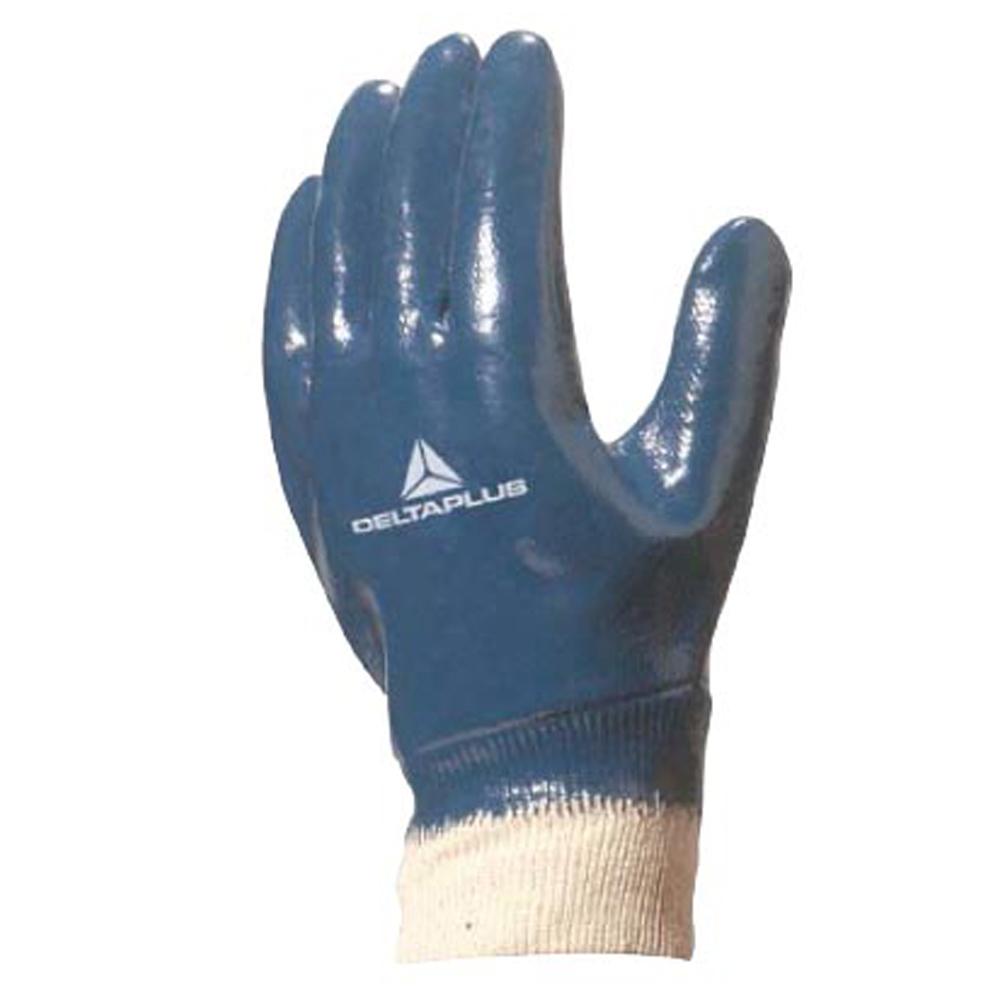 Luva de Suporte e Proteção Têxtil Látex Nitrílico 10