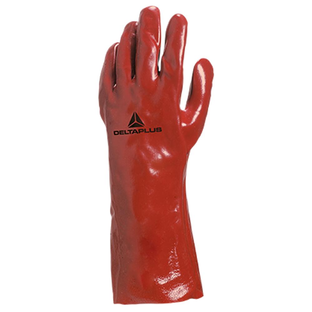 Luva de Proteção em PVC Palma Lisa 35 cm