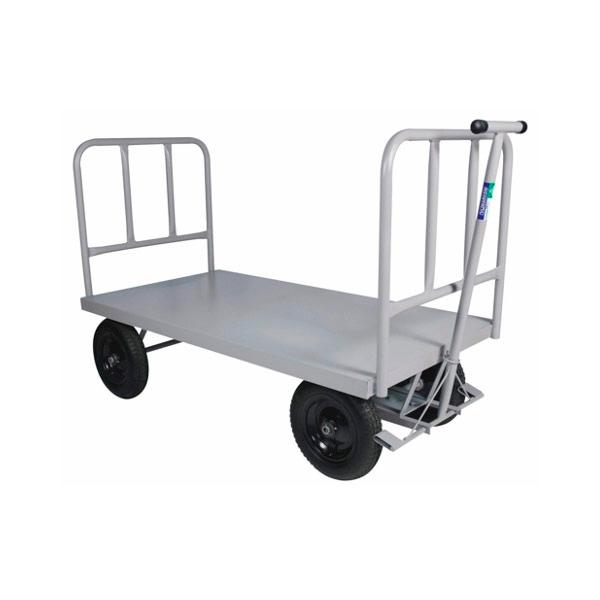 Carro Plataforma Pneumático 800 Kg 2 Abas