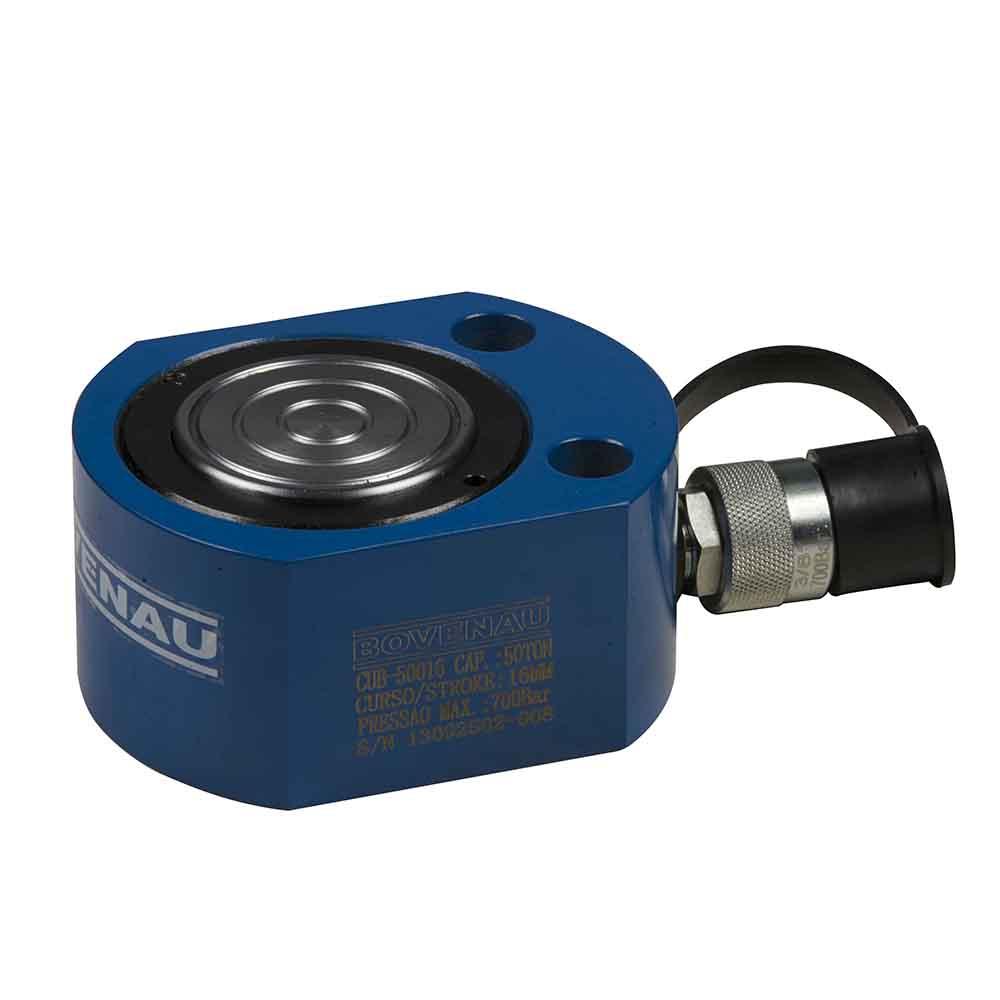 Cilindro Hidráulico Simples Ação 100 Ton CUB-100016