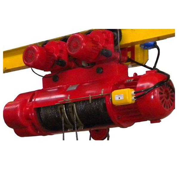 Talha Elétrica 16 Toneladas de cabo de aço com Trolley