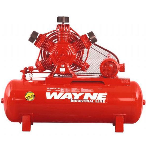 Compressor de ar Industrial Alta Pressão Wayne 425 litros - 60 pés