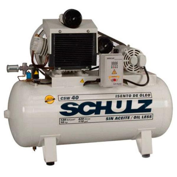 Compressor Médico Odontológico Schulz 420 litros - 40 pés